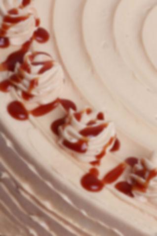 Toffee Apple Cake Close Up