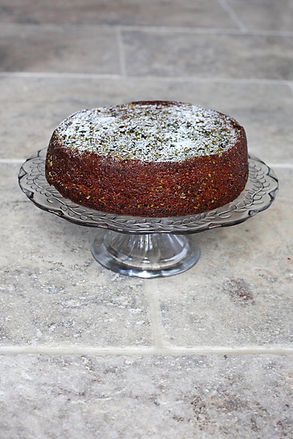 Gluten and Dairy Free Pistachio and Olive Oil Cake