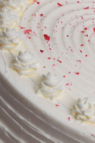 Red Velvet Cake Close Up