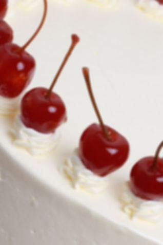 Black Forest Cake Close Up