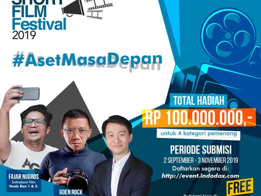 Gelar Festival Film Pendek Berhadiah Hingga 100 Juta Rupiah, Indodax Dukung Industri Film Indonesia