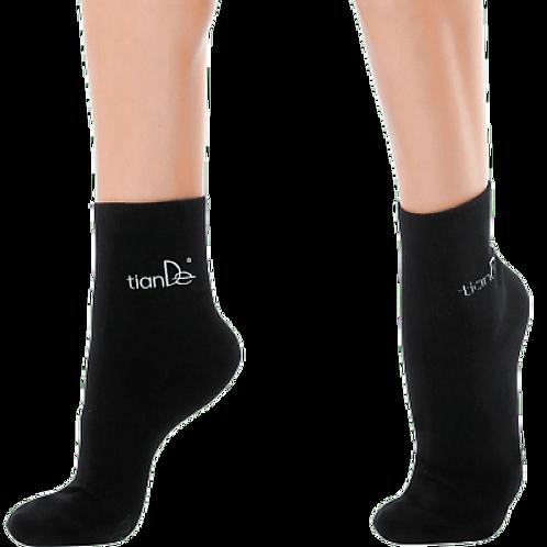 Ponožky s bodovou aplikací turmalínu