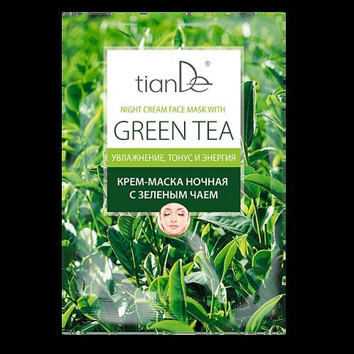 Pleťová maska zelený čaj