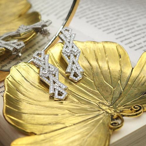 Chapter13 - Art Deco Butterfly (Earring)
