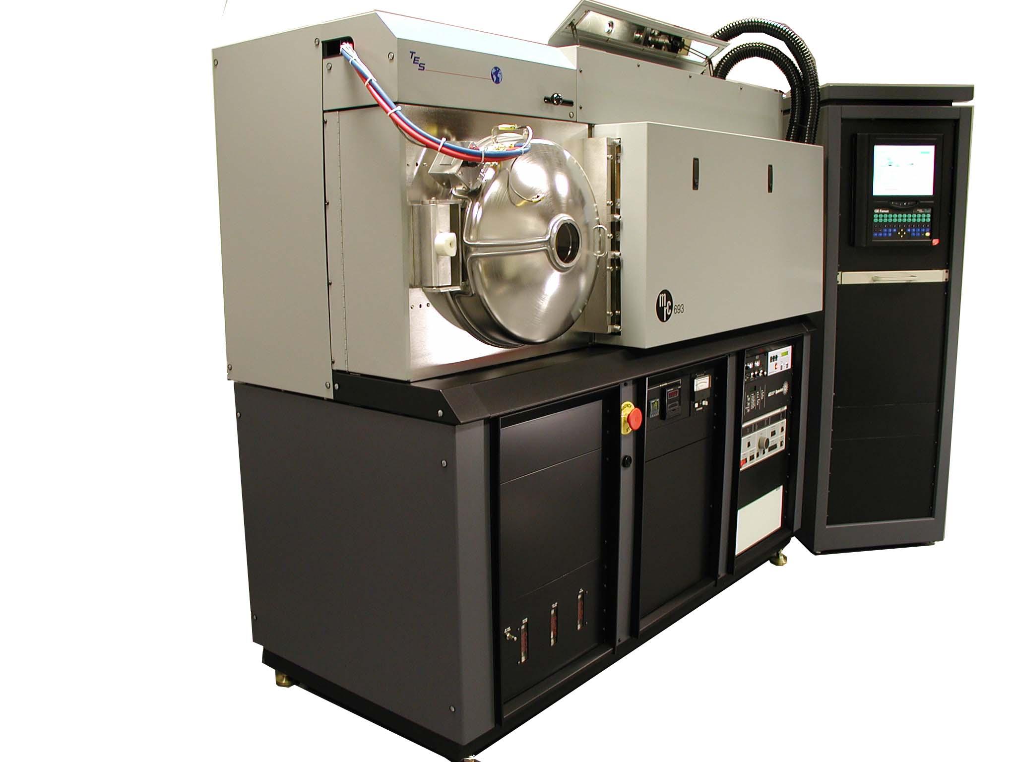 MRC-600 load lock sputtering system