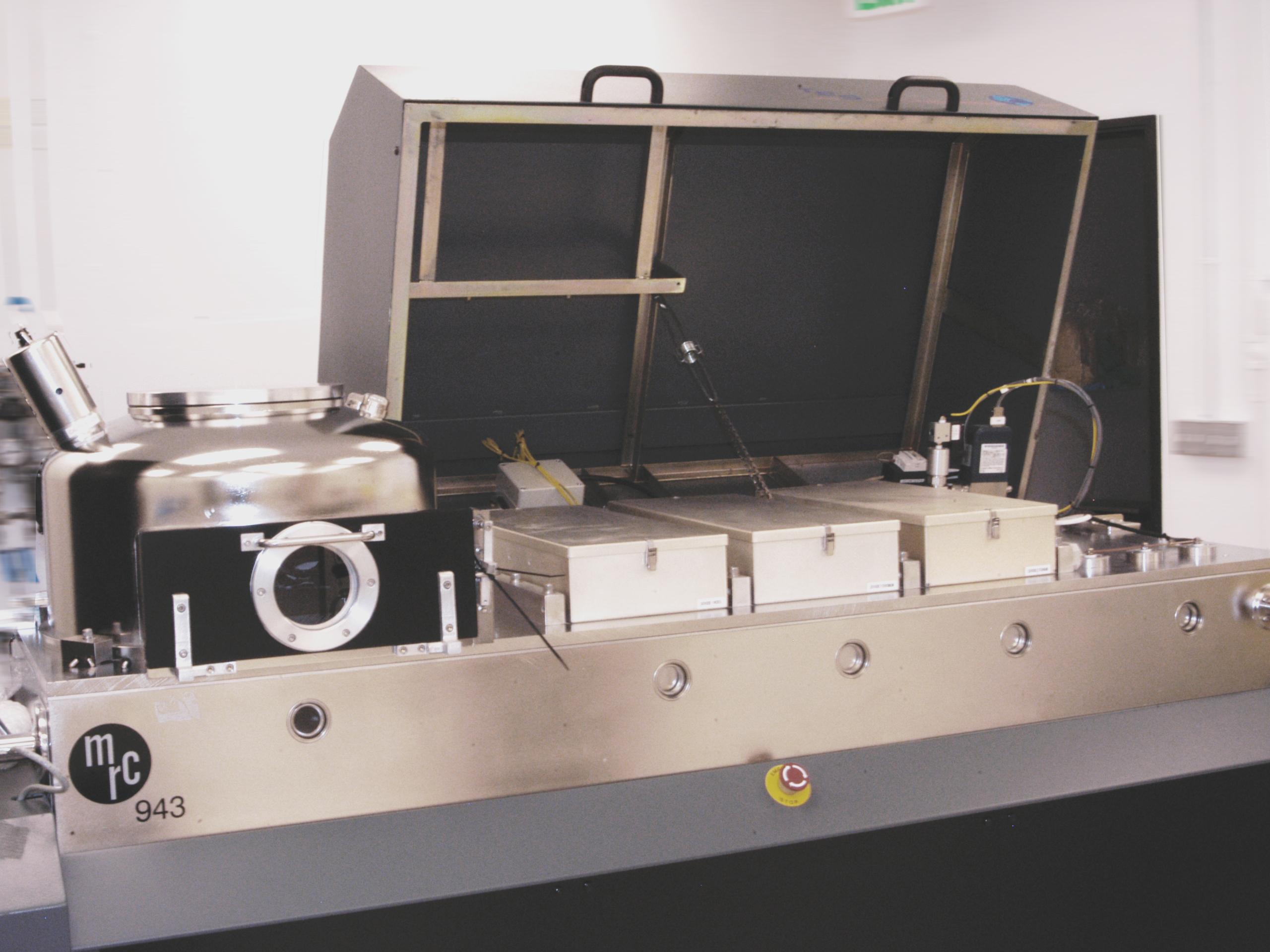 MRC-900 load lock sputtering system