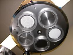 PE- 4400  five cathode  head