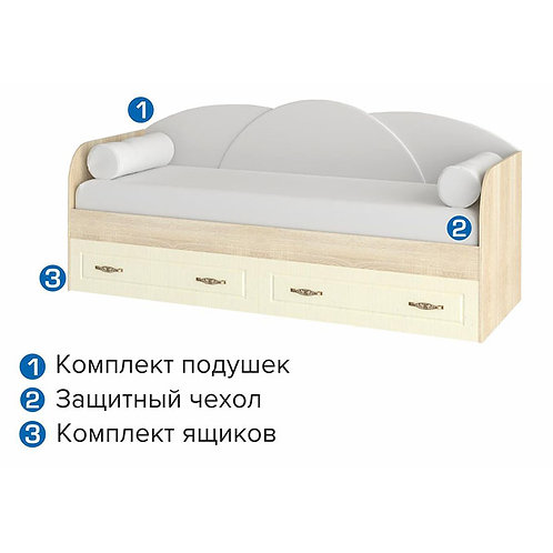Кровать САРМА Офелия Подростковая