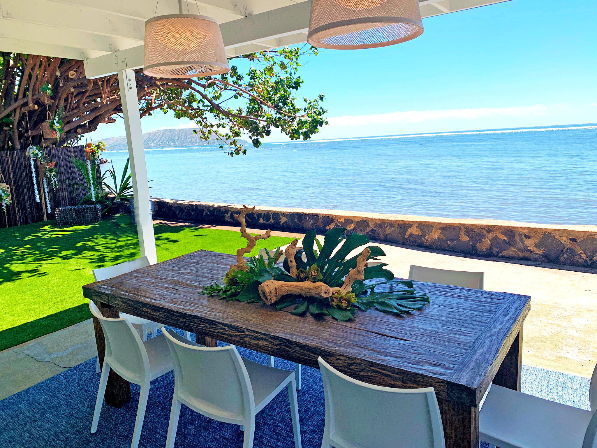 The Beach House - Oceanfront Events in Hawaii