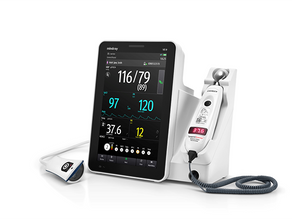 Norso Medical Ltd. launches Mindray's new VS9 vital signs workstation for modern ward rounds.
