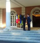 Visite du Président de la République à Madrid et à Lisbonne