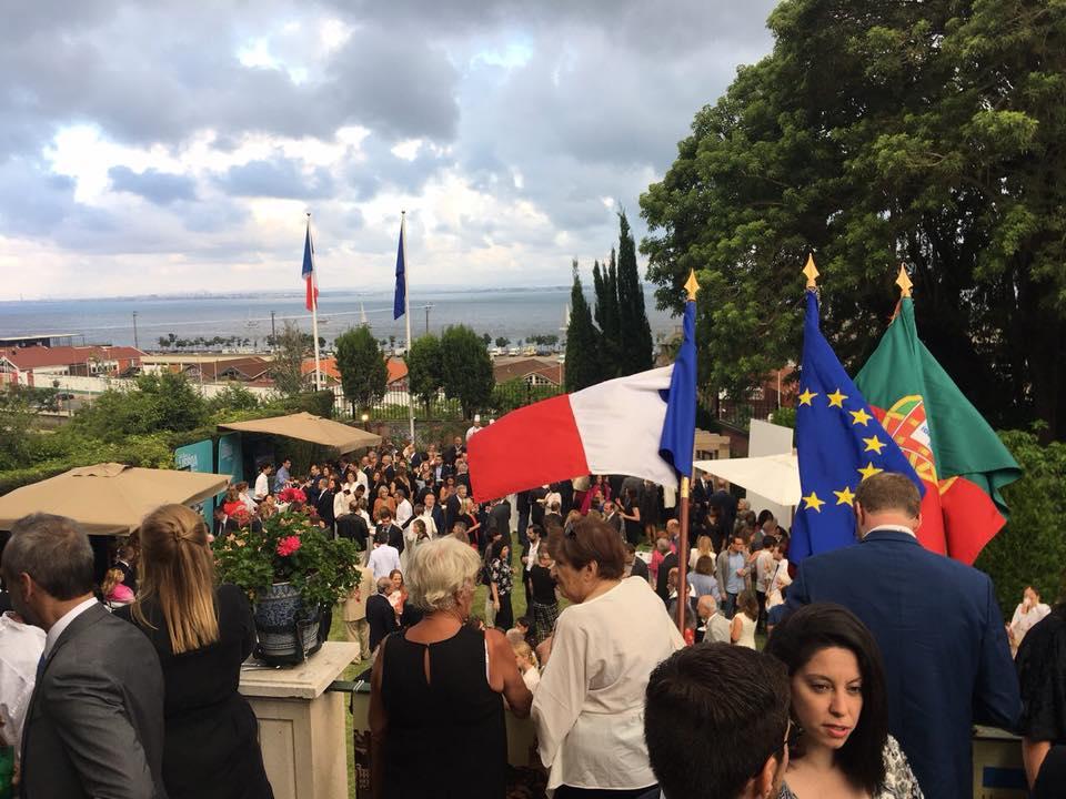 Cérémonie du 14 Juillet à Lisbonne