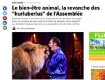"""Dans la Presse : """"Le bien-être animal, la revanche des """"hurluberlus"""" de l'Assemblée"""" - HuffPost"""