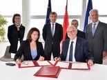 Signature entre la France et Monaco d'un accord de coopération