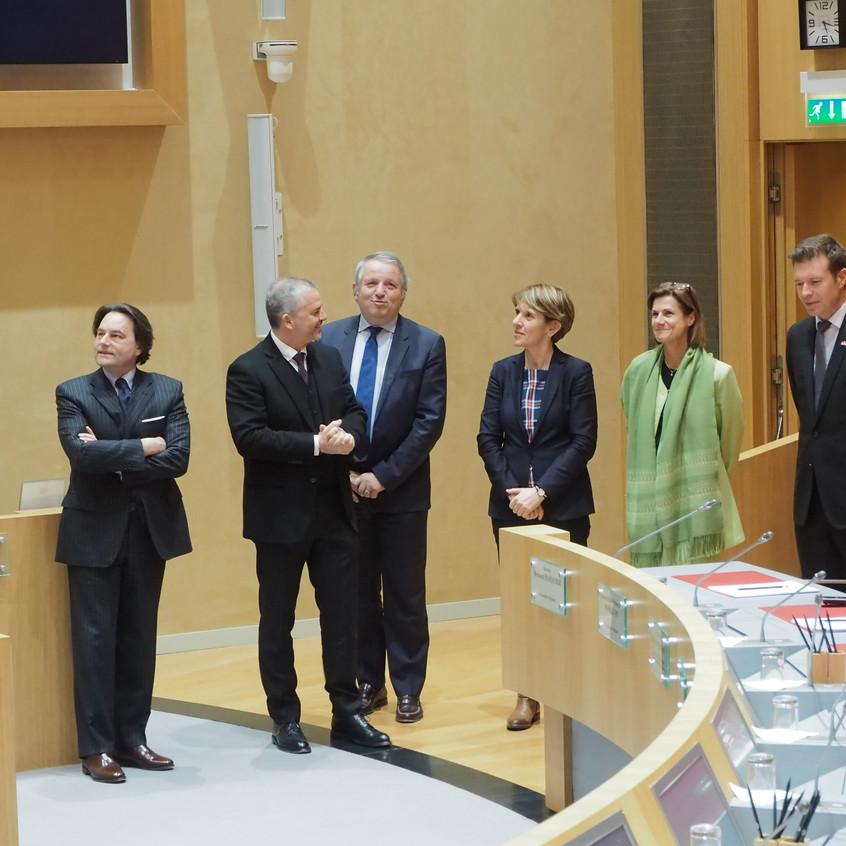 Visite du Conseil National