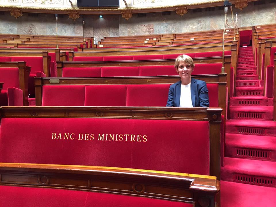Assemblée nationale - Samantha Cazeb