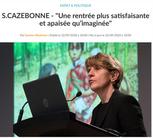 """Interview """"Une rentrée plus satisfaisante et apaisée qu'imaginée"""" - Le Petit Journal"""