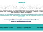 CONSULTATION POUR L'AVENIR DE L'ENSEIGNEMENT FRANÇAIS À L'ÉTRANGER