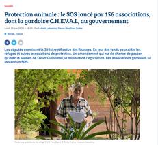 Dans la presse : le SOS de 156 associations - Francebleu