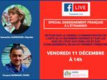 Rendez-vous vendredi 11 décembre pour un nouveau Facebook live !