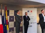 Cérémonie de présentation du nouveau consul honoraire de Séville, Christophe Sougey