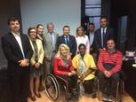 Projet handicap à Madrid - Samantha Cazebonne