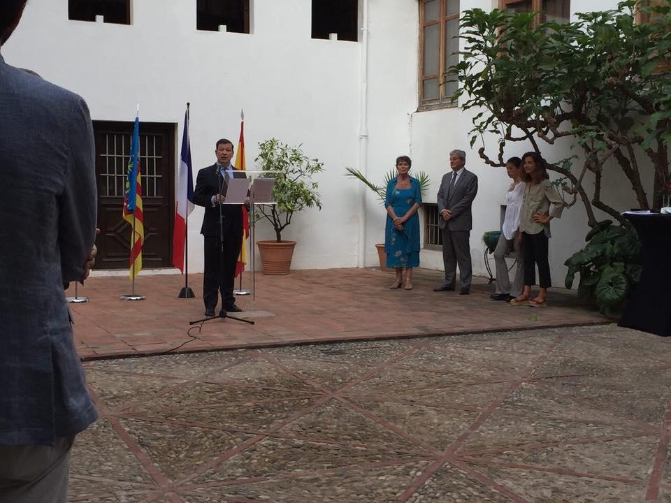 Cérémonie du 14 Juillet à Valence