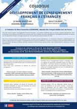 Colloque sur l'Enseignement Français à l'Étranger - 15/03/2019