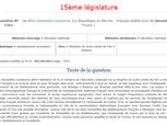 Question écrite au gouvernement #3 - Situation du lycée Comte de Foix à Andorre - Samantha Cazebonne