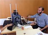 Test du nouveau dispositif mobile de recueil d'empreintes à Alicante - Samantha Cazebonne