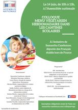 Colloque Menus Végétariens