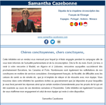 Newsletter du mois de juin 2018 - Samantha Cazebonne