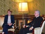 Dans la presse : visite au coprince d'Andorre