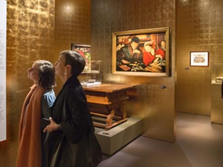 De tentoonstelling 'Voor God en geld' loopt nog slechts twee weken…