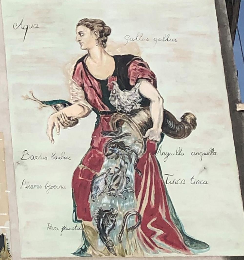 Vrouwe Fortuna, hoorn des overvloeds, Braemgaten, Braempoort, Gent, Jan Van Imschoot