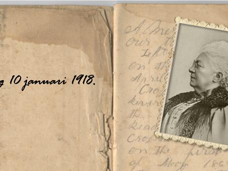 10 januari 1918: Virginie Loveling mijmert over de Grote Oorlog...