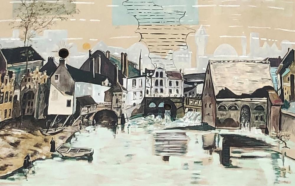 Braempoort, Braemgaten, Gent, Jan Van Imschoot