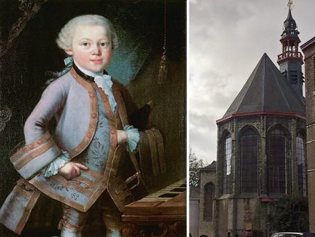 September 1765: de familie Mozart verblijft in Gent