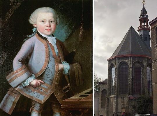 Mozart en de Baudelokapel