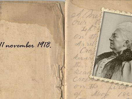 11 november 1918: eindelijk vrede!