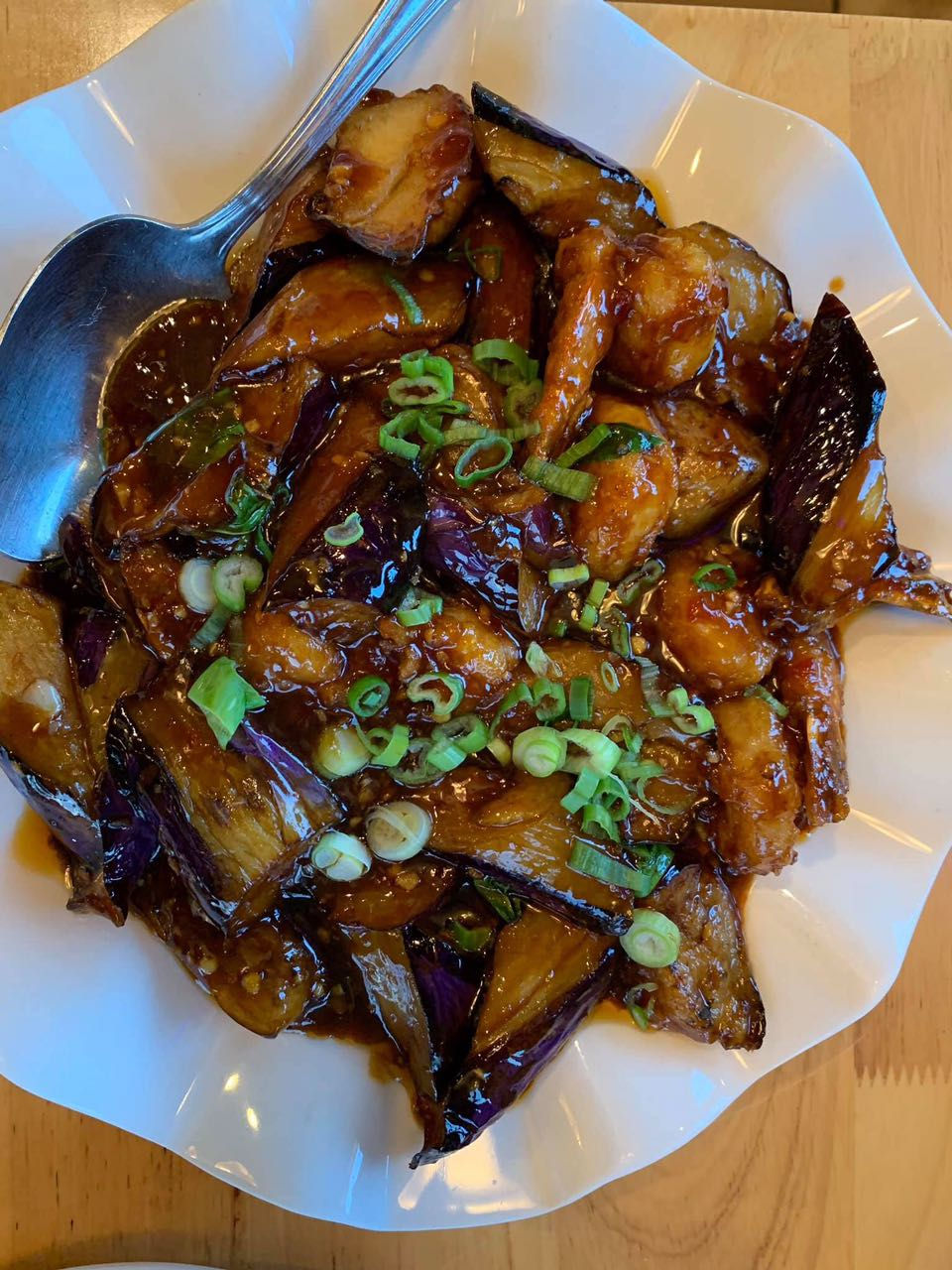 shrimp eggplant