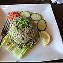 Tea Leaf Rice Salad