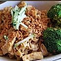 Garlic Noodles (with flat egg noodles)