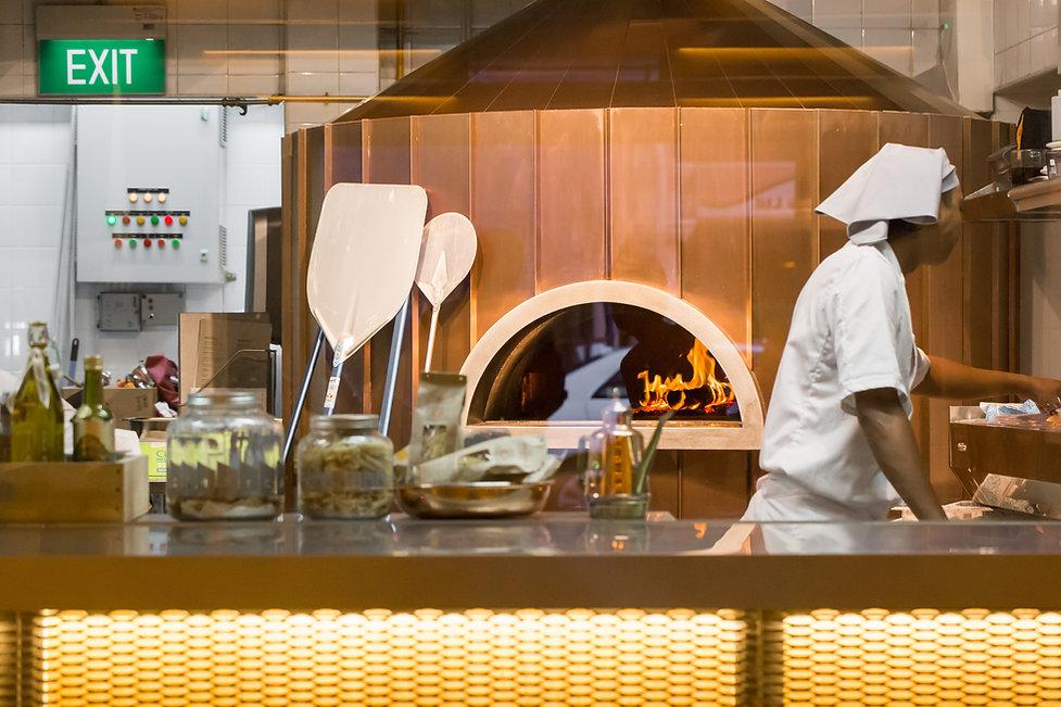 Pizza Fabbrica Kitchen