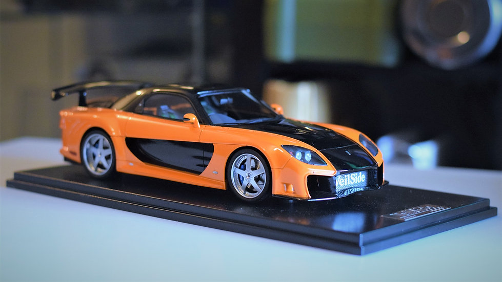 1/18 ONE MODEL - Veilside Fortune RX-7 - Orange