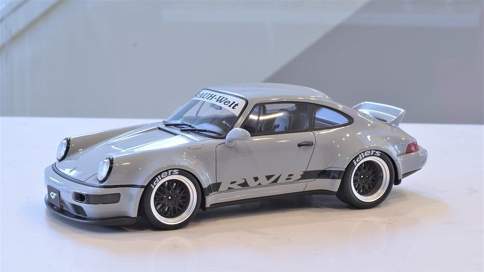 1/18 GT Spirit - RAUH-Welt Begriff (RWB) 964 Ducktail - Grey