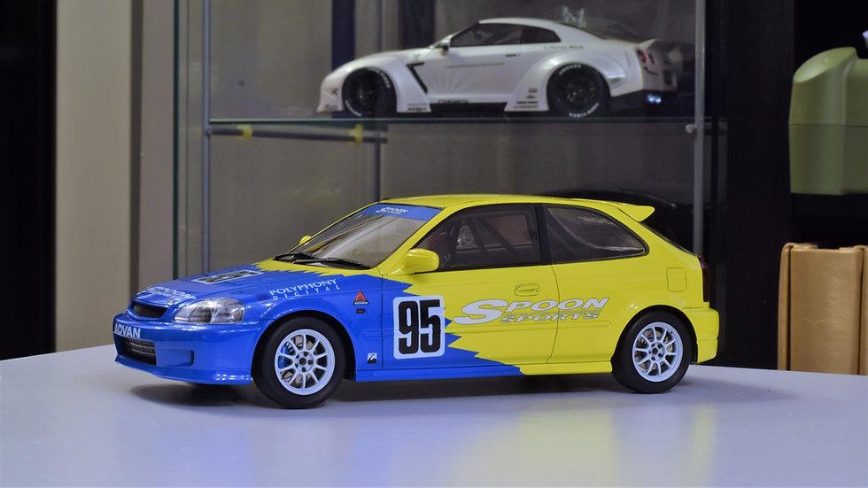 1/18 OneModel LTD. Spoon Racing EK9 Civic Type R.