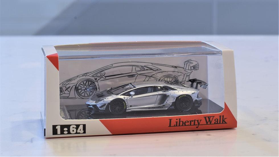 1/64 JEC LB Performance - Lamborghini Aventador LP700-4 (SILVER)