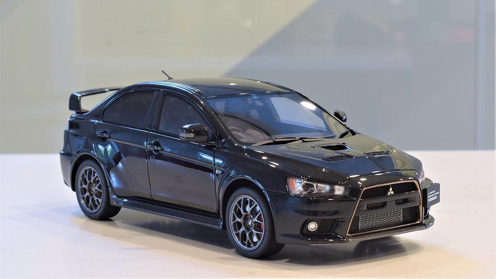 1/18 KYOSHO - Mitsubishi Evolution X - Black