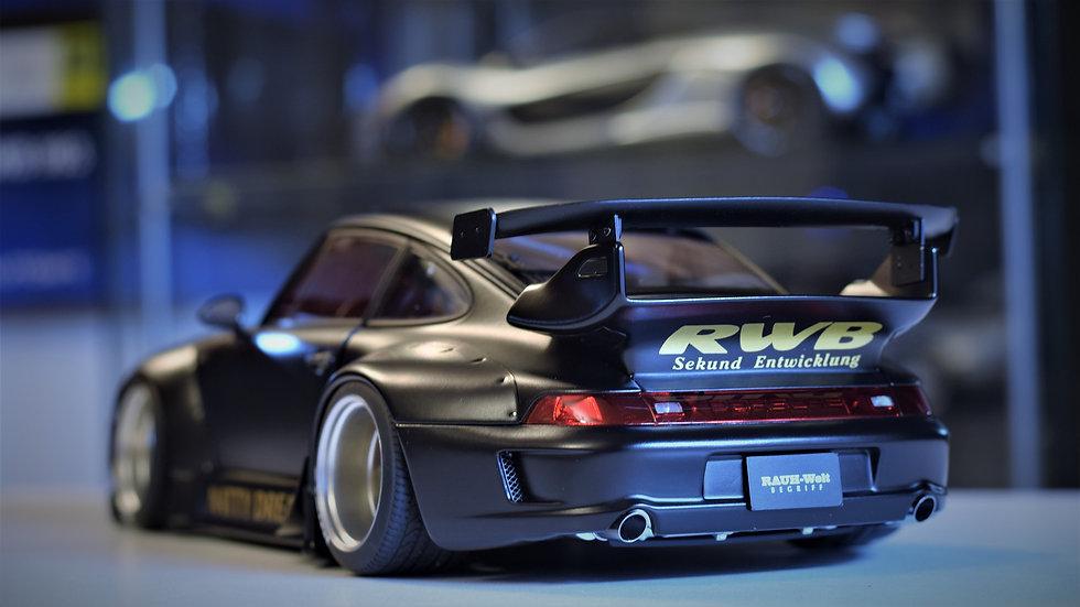 1/18 AUTOart RAUH-welt Begriff (RWB) Porsche 911 (993) - Black